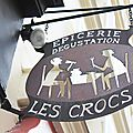 Les crocs - enseigne paris 12 photo humour
