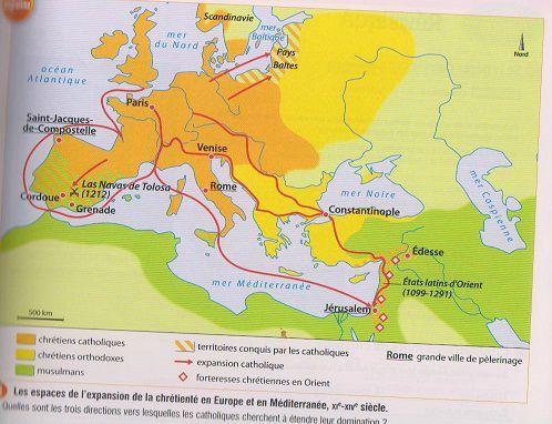 expansion chrétienté