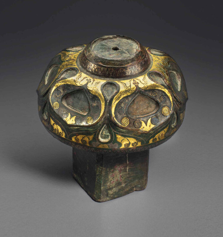 2013_NYR_02726_1503_000(a_rare_gold_and_silver-inlaid_bronze_fitting_western_han_dynasty_2nd-1)