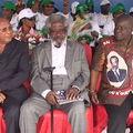 meeting au boulevard Alfred Raoul à Brazzaville.
