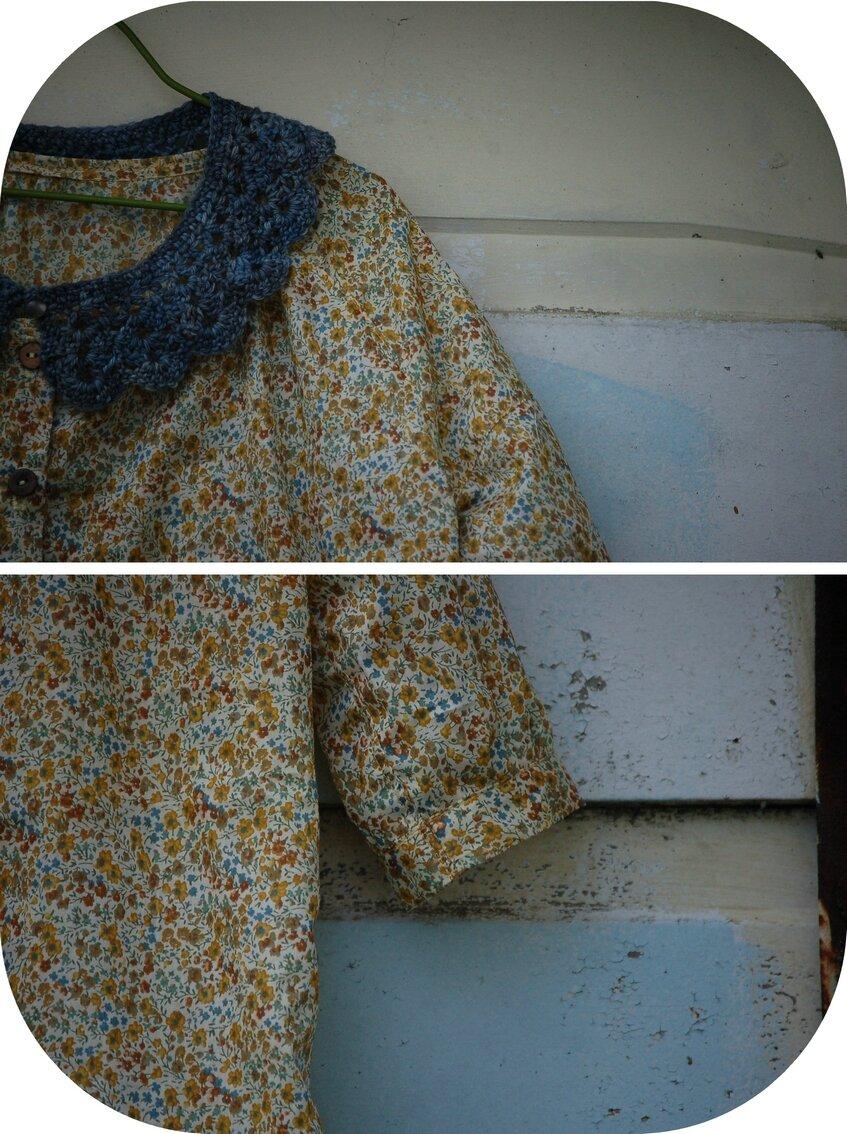Tunique modèle L - Natural material Kids Clothes (livre JCA)