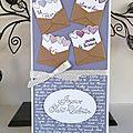 Atelier cadre et carte st valentin