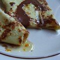 Crêpes du week-end: à la marmelade d'orange et au chocolat