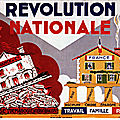1940 - pétain fait la révolution nationale
