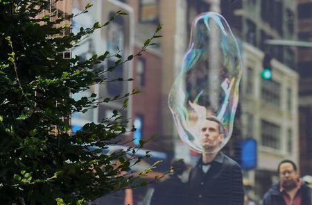 être dans la bulle