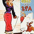Tintin, spirou et la spa, sur le front anti-fur (1965)