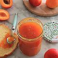 Confiture d'abricot au k-cook multi