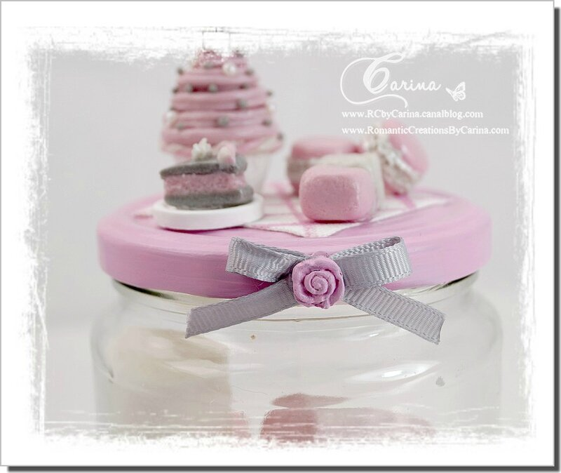 Pot gourmandises Rose & Gris 3