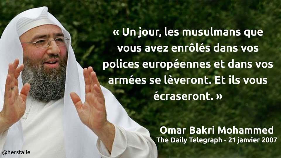 La POLICE française islamisée