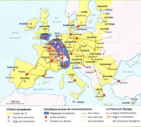 La France dans l'Union européenne