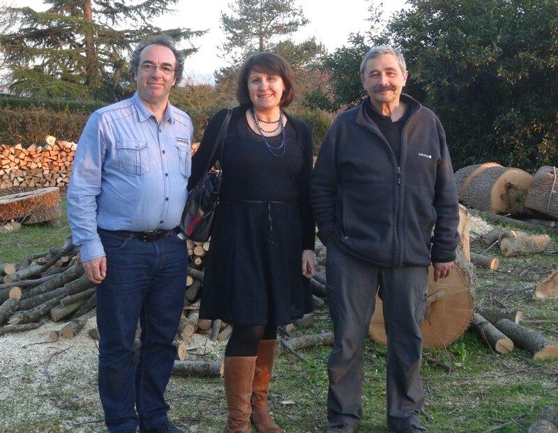 Yannick, Béatrice et Jean-marc Satgé