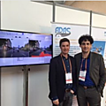 Gst and nexyad on the moveo groupement adas booth at connected conference
