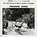Programme des ch. du monde de descente de rivière sportive treignac 1959