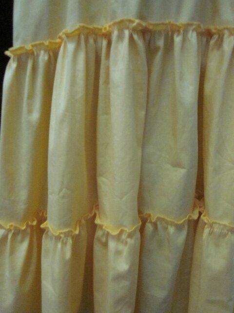 Jupon CLEMENTINE en coton jaune soleil (7)