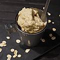 Glace avoine vanille