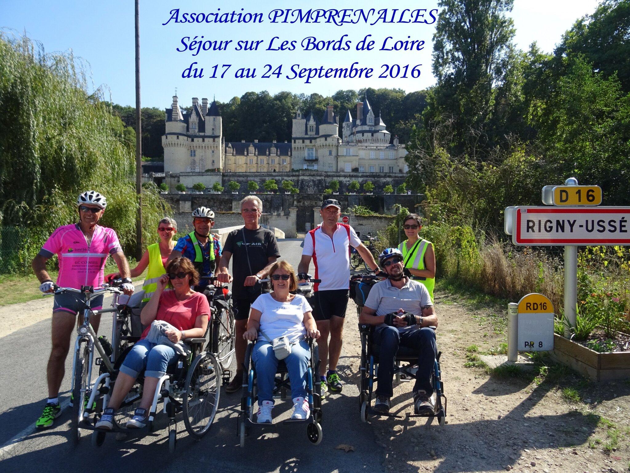 Pimpren'Ailes suit la Loire en vélo monopousseur