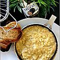 Oeufs brouilles a la tartufata & parmesan