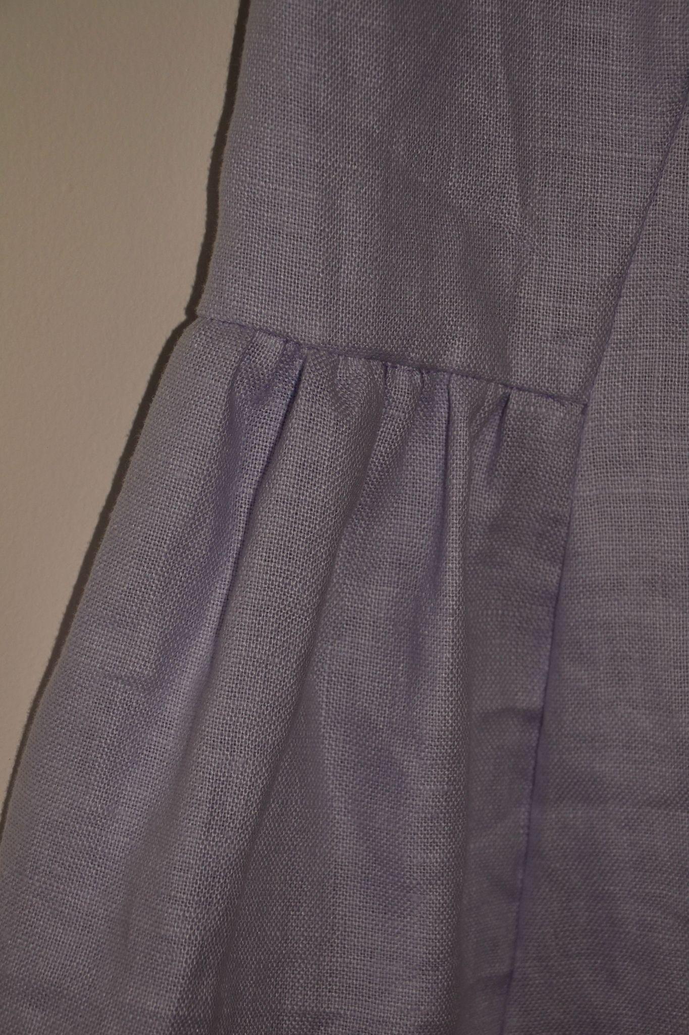 Basque de la robe années 30