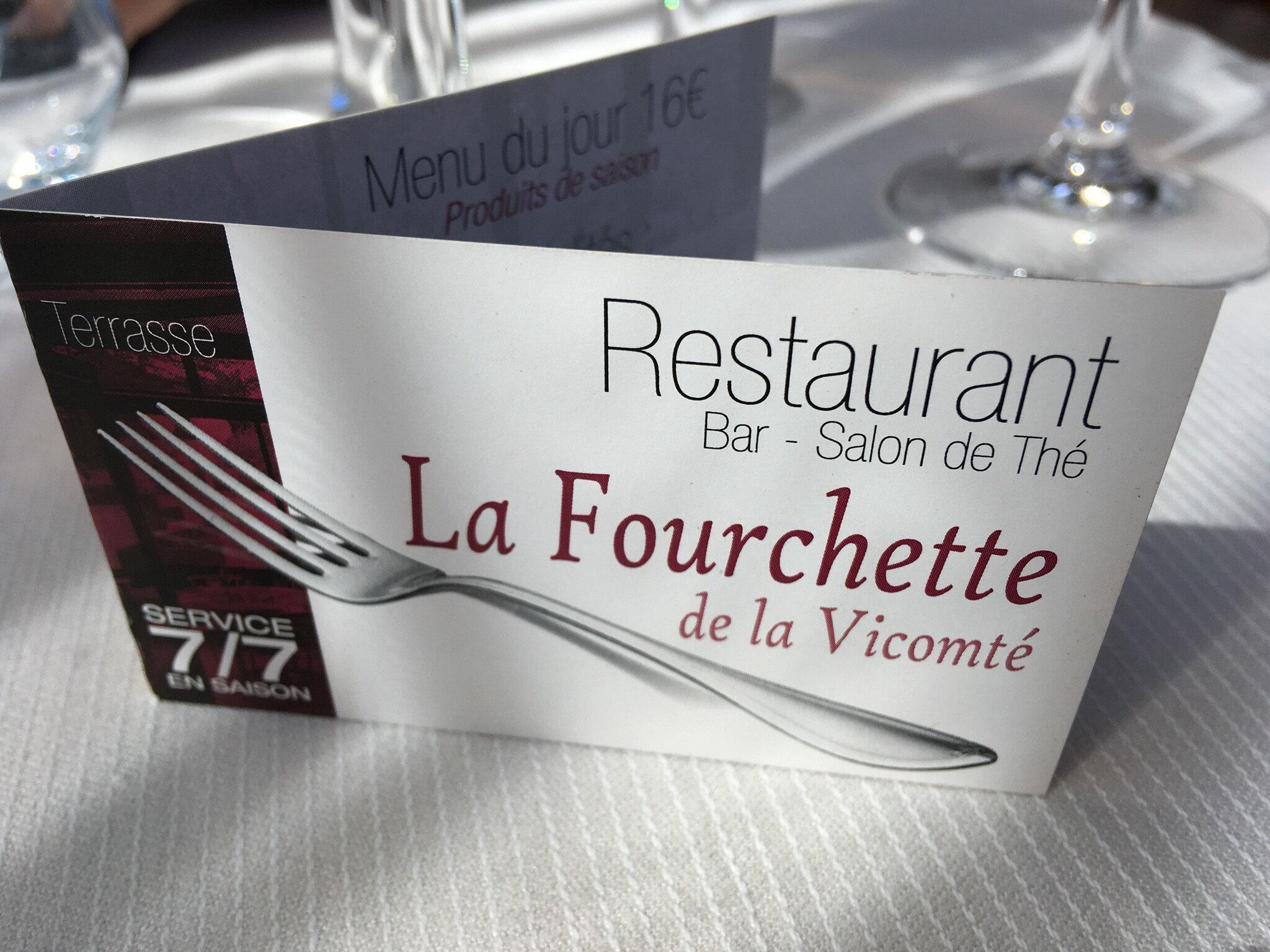 Restaurant la Fourchette la Vicomté sur Rance