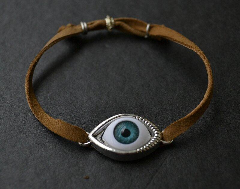 bracelet oeil w