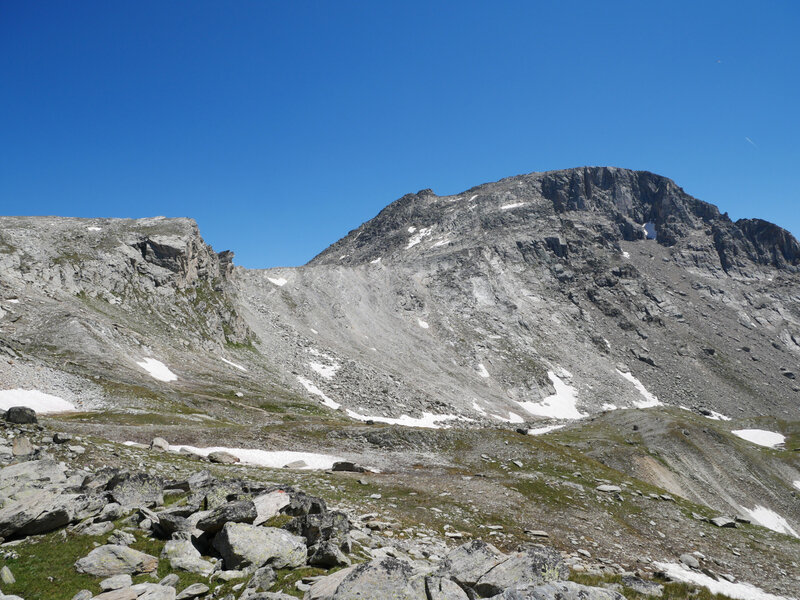 descente vers le sentier du Col de La Masse