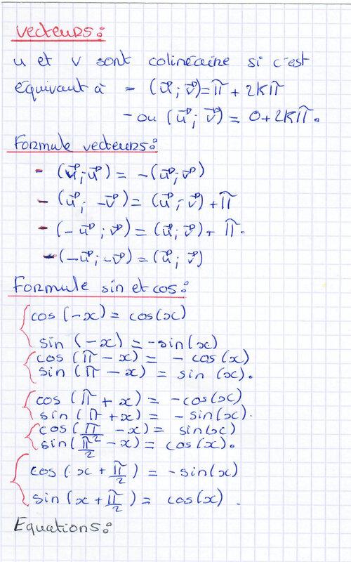 Trigonométrie 2