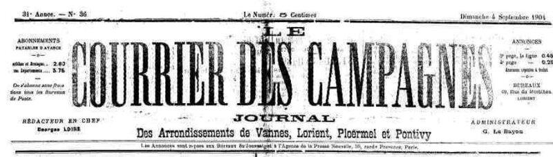 Presse Courrier des Campagnes 1904_1