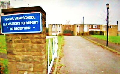 Knowle View School entrance 1X1