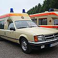 Opel commodore c ambulance carrosserie miesen 1982