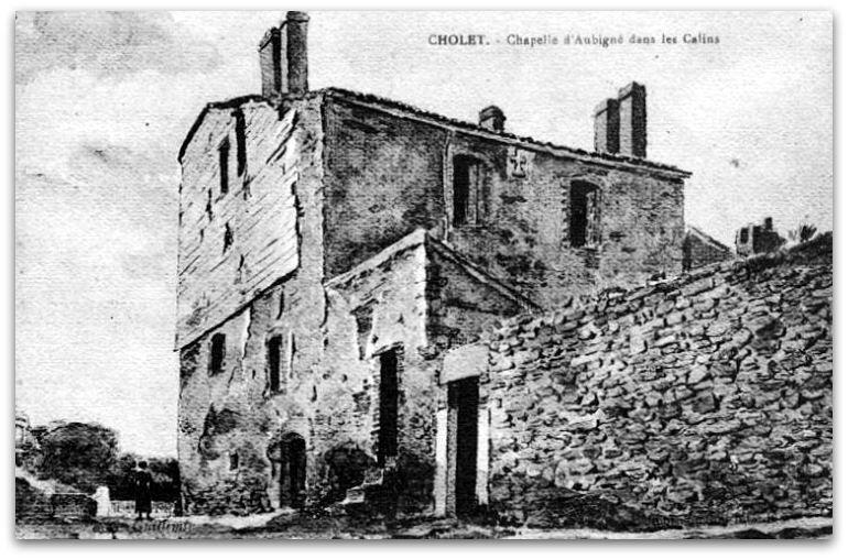 CHOLET CHAPELLE D'AUBIGNÉ z