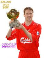 BALLON D'OR 2001 MICHAEL OWEN