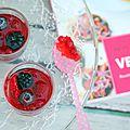 Verrines fruitées en gelée (vegan)