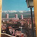 Grenoble - Tours de l'ile verte datée 1976