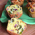 Muffins au chorizo et au poivron