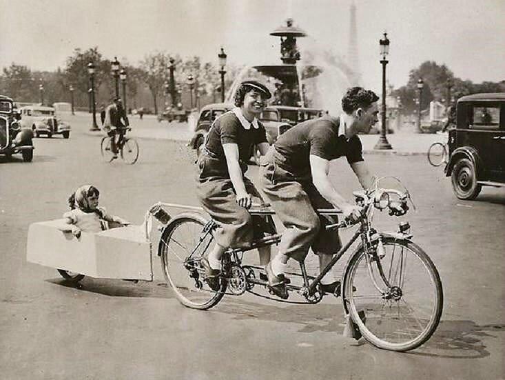 """Paris """"place de la Concorde"""" 1938"""