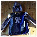 Nouveau costume de chevalier