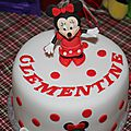 Minnie party... le gâteau...
