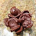 Roses des sables tout chocolat