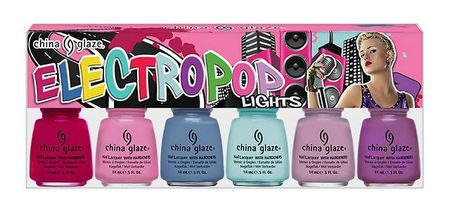 china glaze - electro pop light