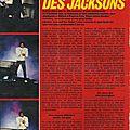 Dans les coulisses de la tournée des jacksons - salut!, 1984