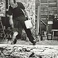 First exhibition in more than three decades to survey the late paintings of jackson pollock opens in liverpool