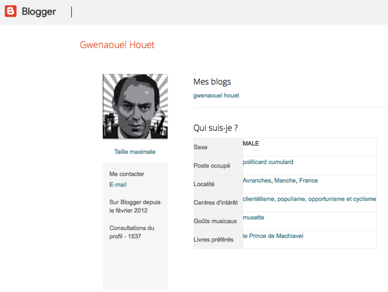 blog Gwenaouel houet profil cumul mandats cyclisme clientélisme populisme