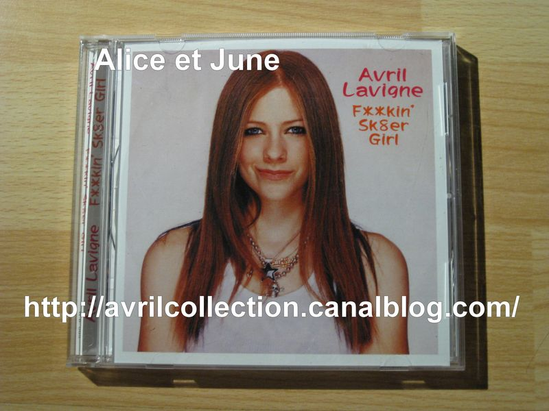 CD Avril Lavigne F**kin' Sk8er Girl (2003)