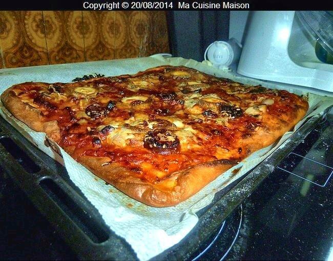 Crème aux oeufs et pizza maison 011