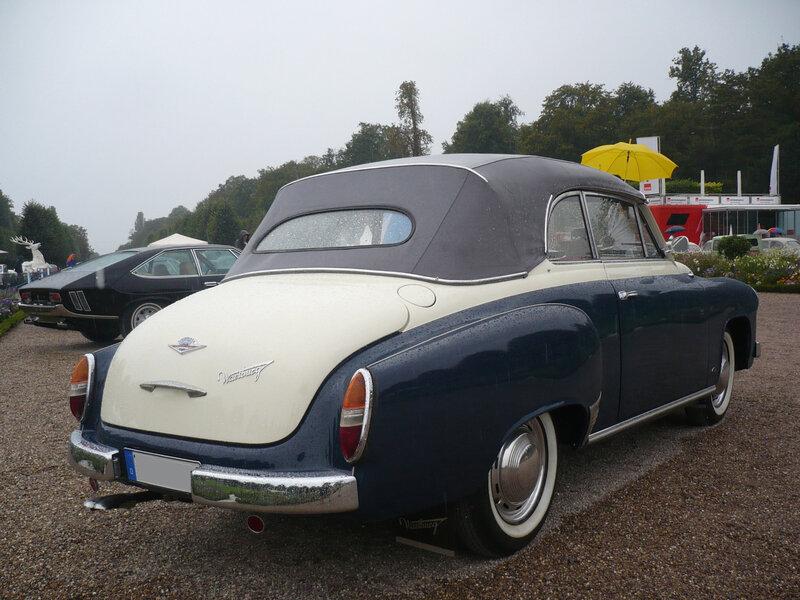 WARTBURG 311 cabriolet 1958 Schwetzingen (2)