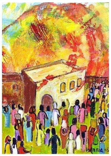Pentecôte, Berna Lopez