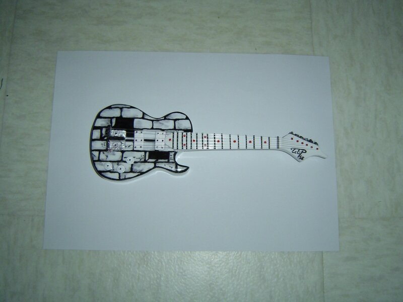 Guitare the wall