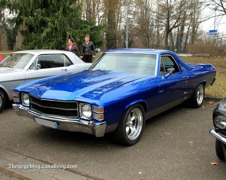 Chevrolet el camino de 1971 (Retrorencard mars 2012) 01