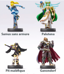 8ème vague d'amiibo: 4 amiibos