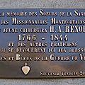 Saint-Laurent-sur-Sèvre (85) - Maison des Motfortains (2009)